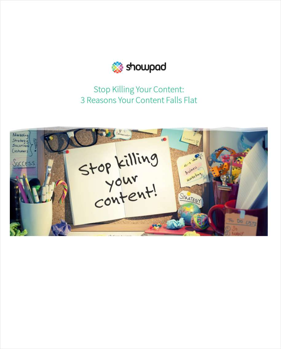 Stop Killing Your Content: 3 Reasons Your Content Falls Flat