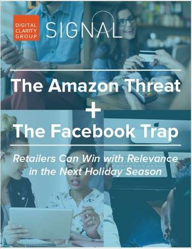 The Amazon Threat  and the Facebook Trap - What Marketer's Need to Know This Holiday Season