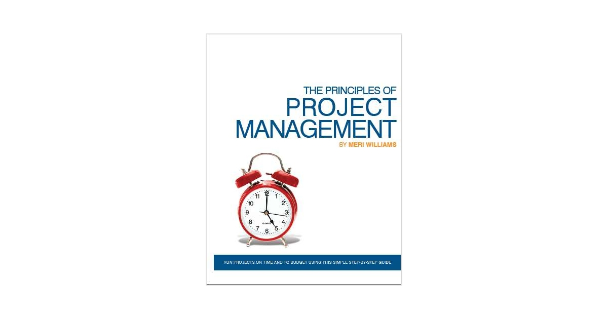 principles of project management This free ebook will help you to understand the principles of project management.