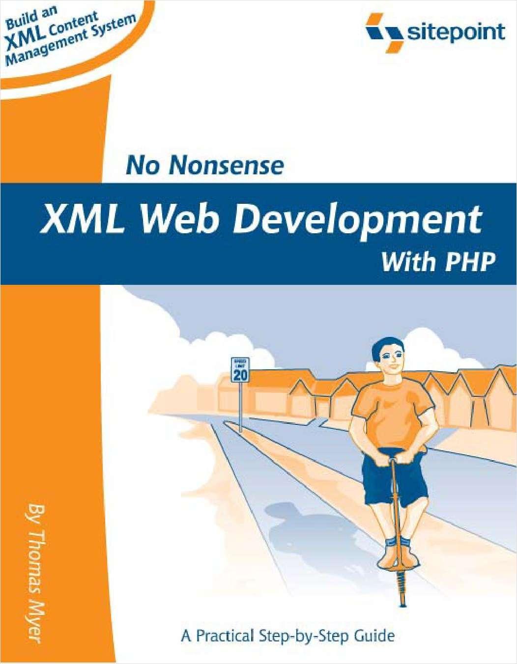 No Nonsense XML Web Development With PHP - Free 146 Page Preview!