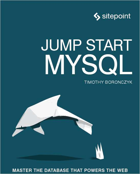 Jump Start MYSQL (FREE For A Limited Time) $30 Value