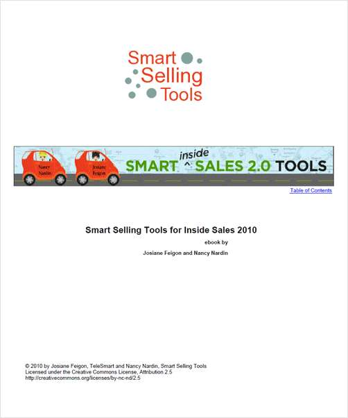 Smart Selling Tools for Inside Sales 2.0