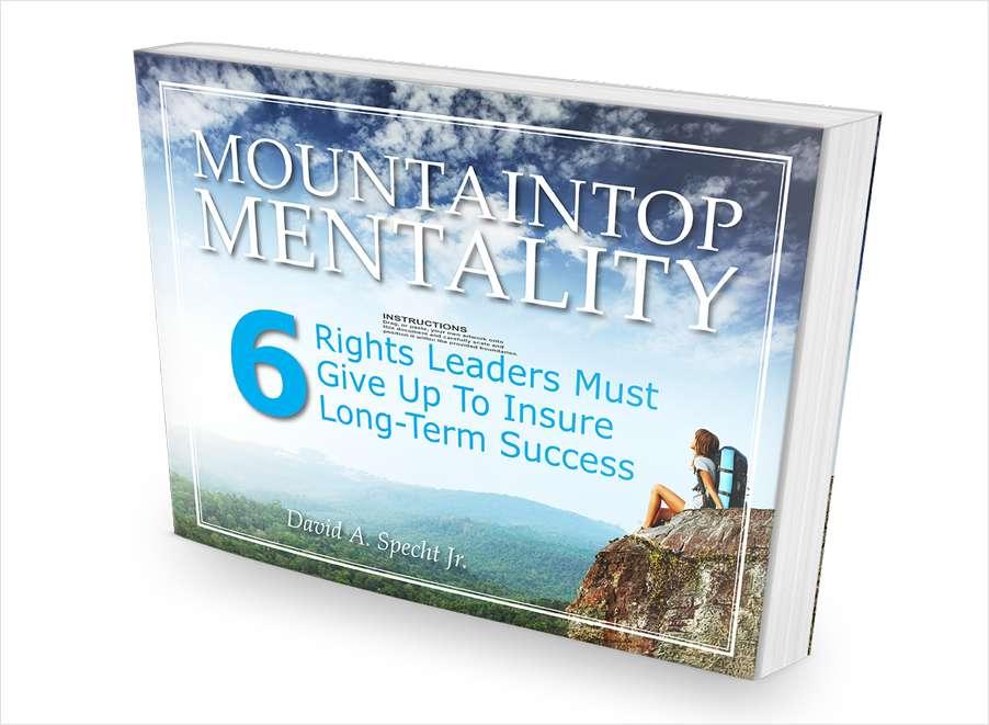 Mountaintop Mentality