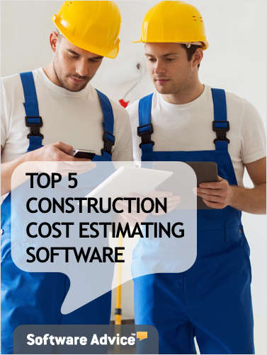 The Top 5 Construction Cost Estimating Software - Get Unbiased Reviews & Price Quotes