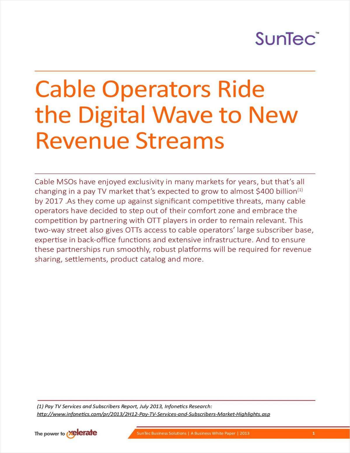 Cable Operators Ride the Digital Wave to New Revenue Streams
