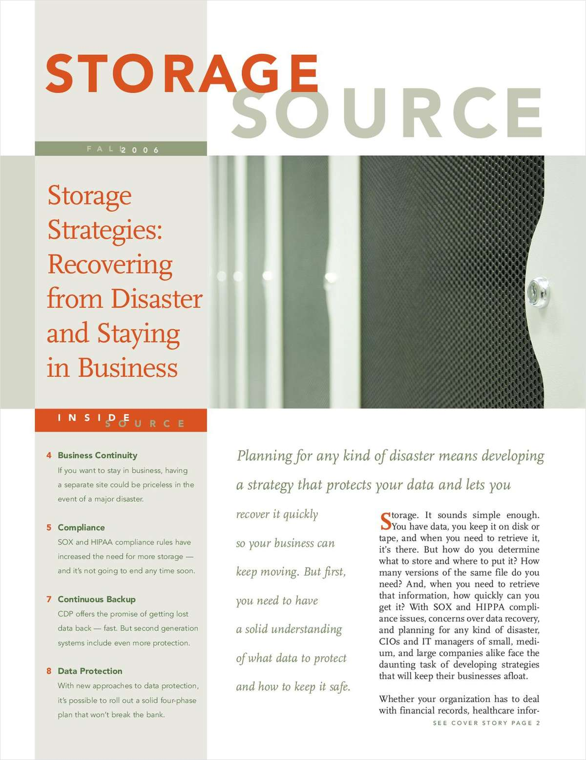 Storage Source Magazine
