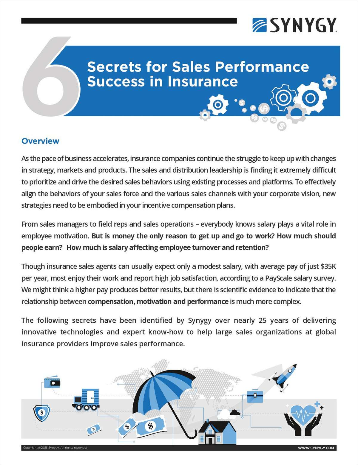 6 Secrets for Sales Performance Success in Insurance