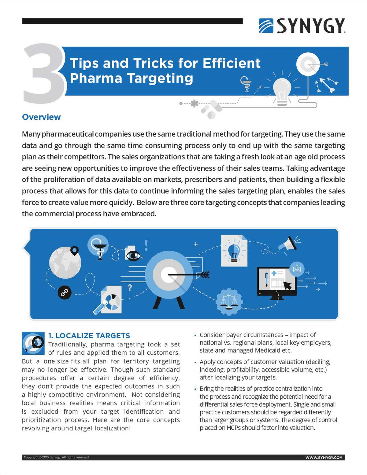 3 Tips and Tricks for Efficient Pharma Targeting