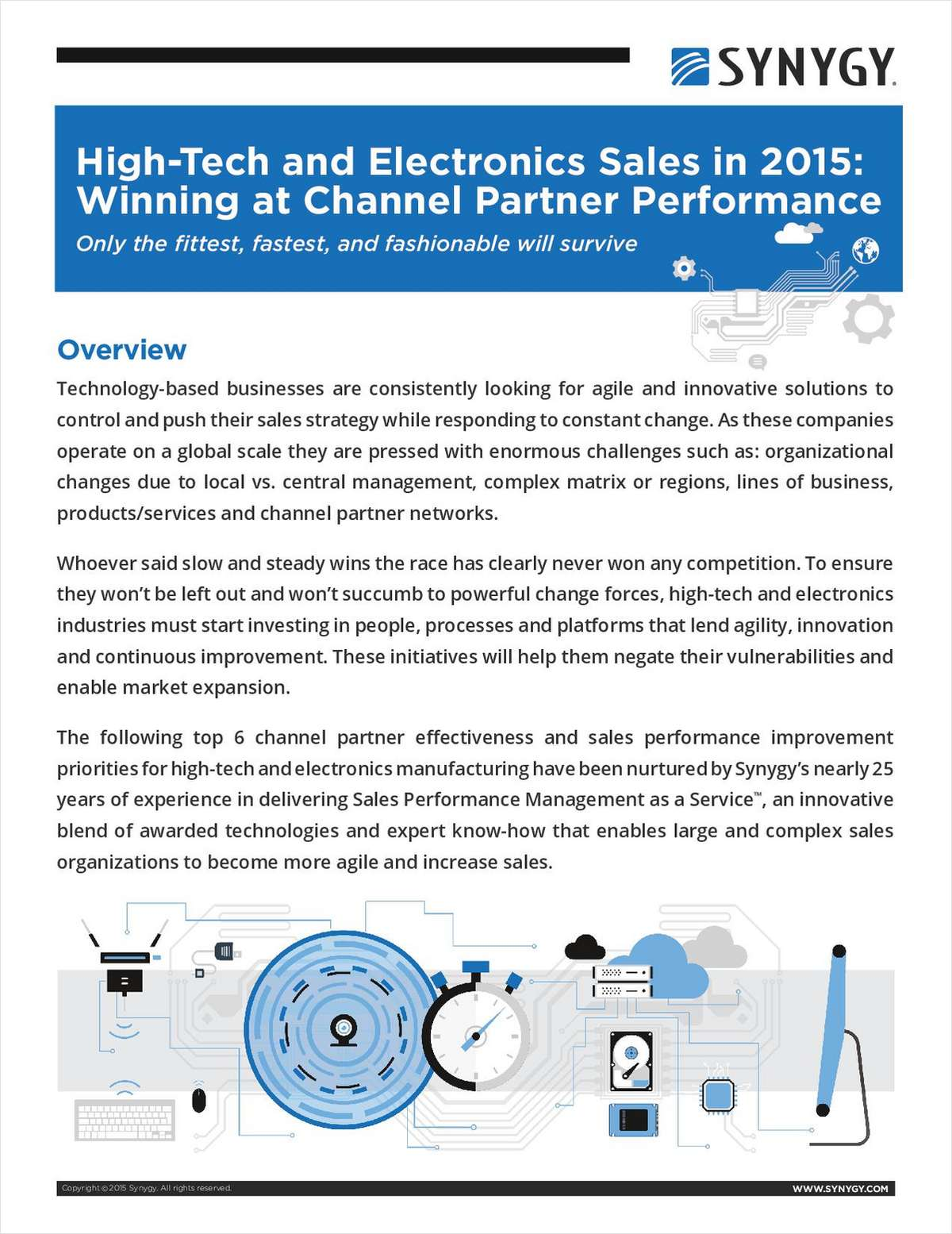 High-Tech and Electronics Sales in 2015: Winning at Channel Partner Performance