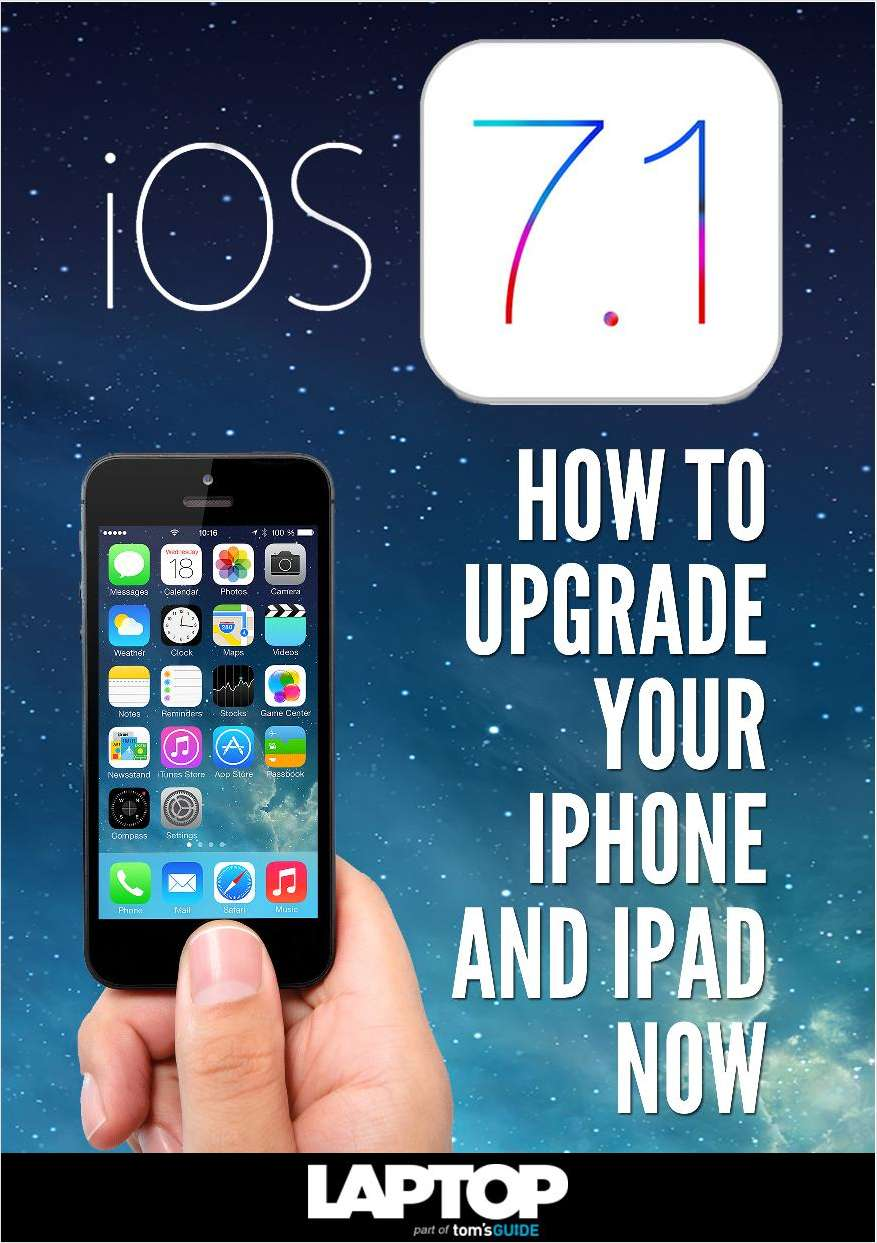 iOS 7.1: How to Upgrade Your iPhone and iPad Now