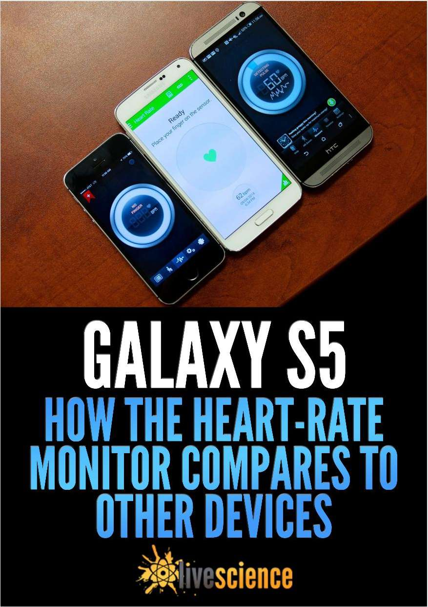 Galaxy S5: How the Heart-Rate Monitor Compares to Other Devices