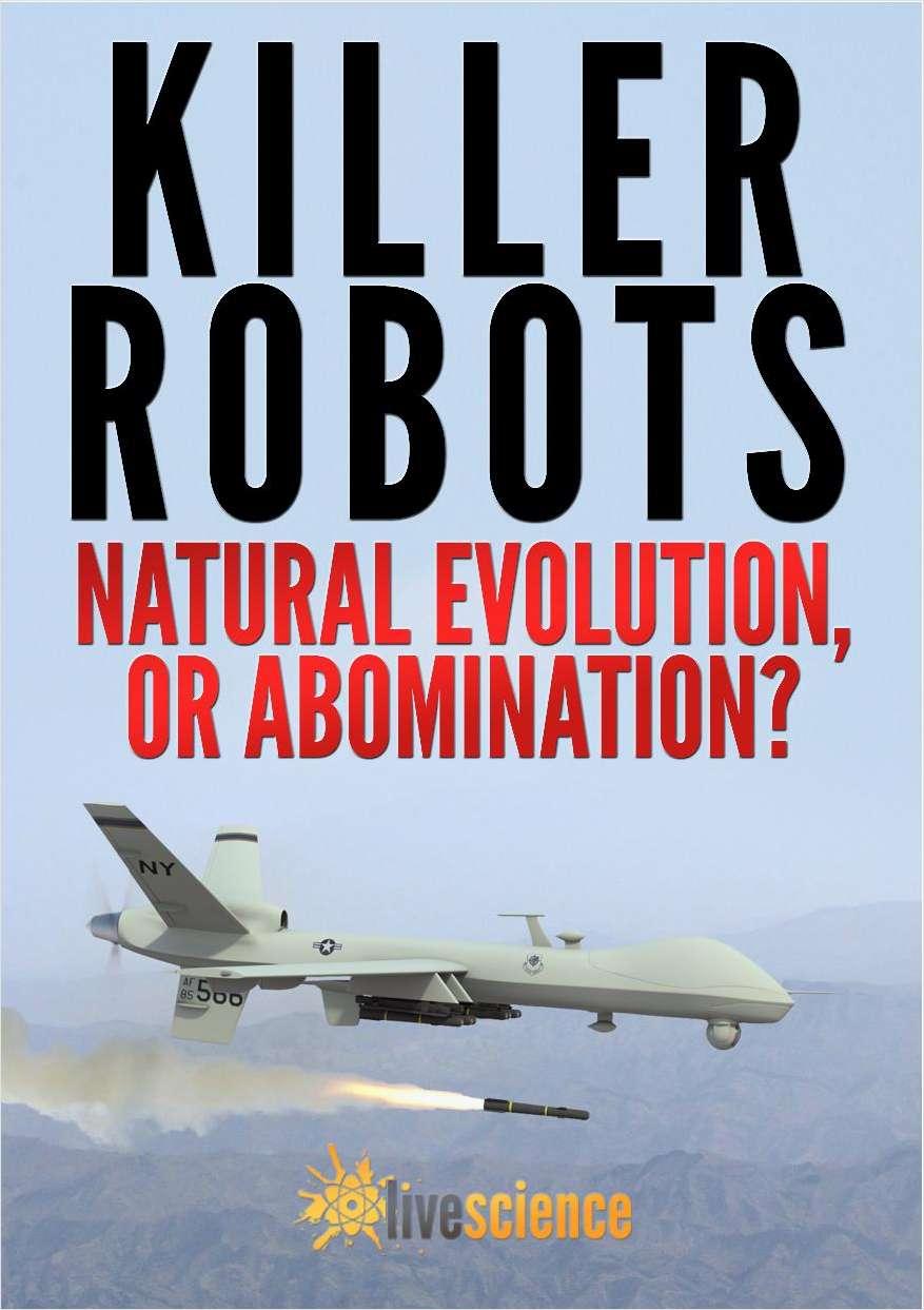 Killer Robots: Natural Evolution, or Abomination?
