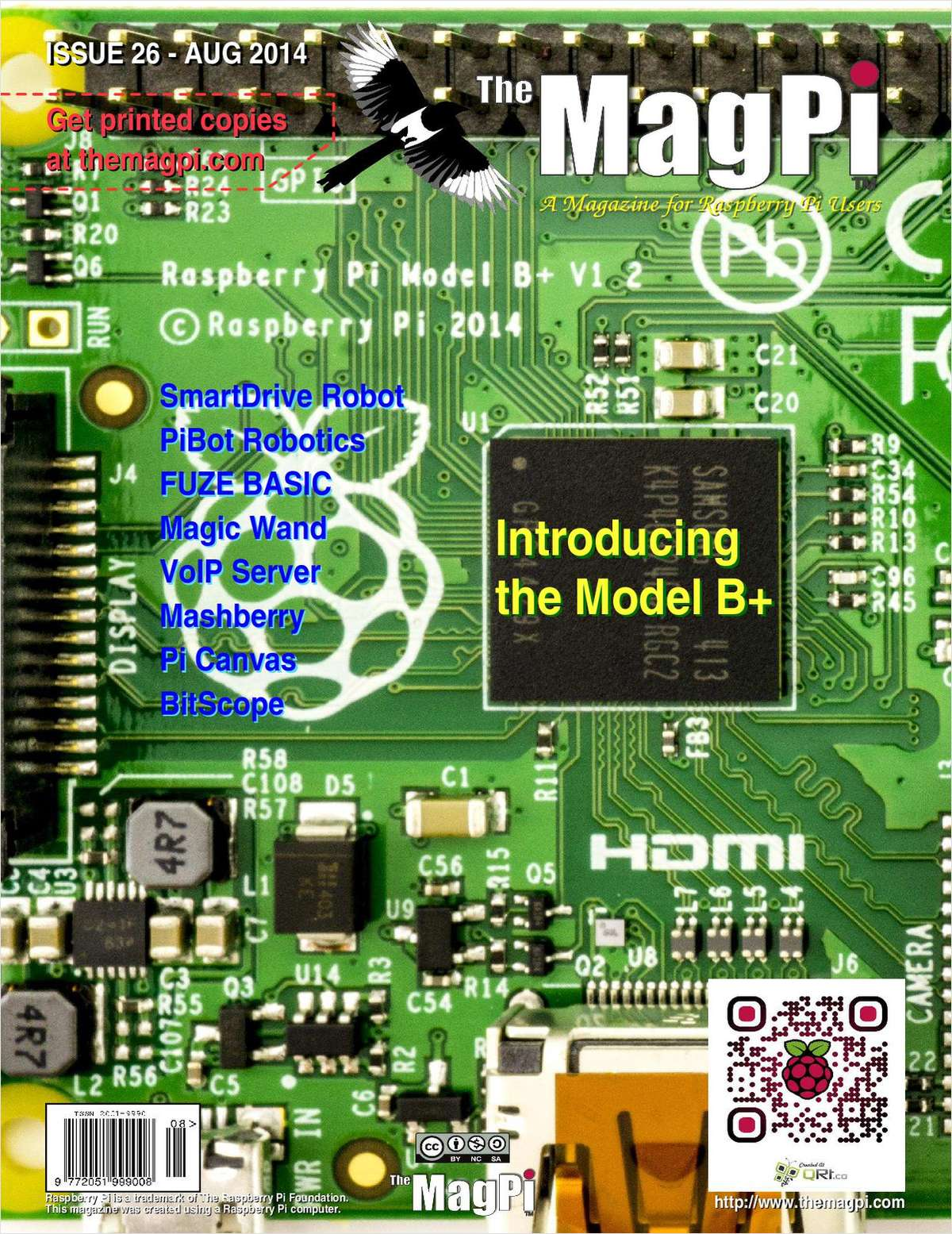 The MagPi Magazine: Introducing the Model B+