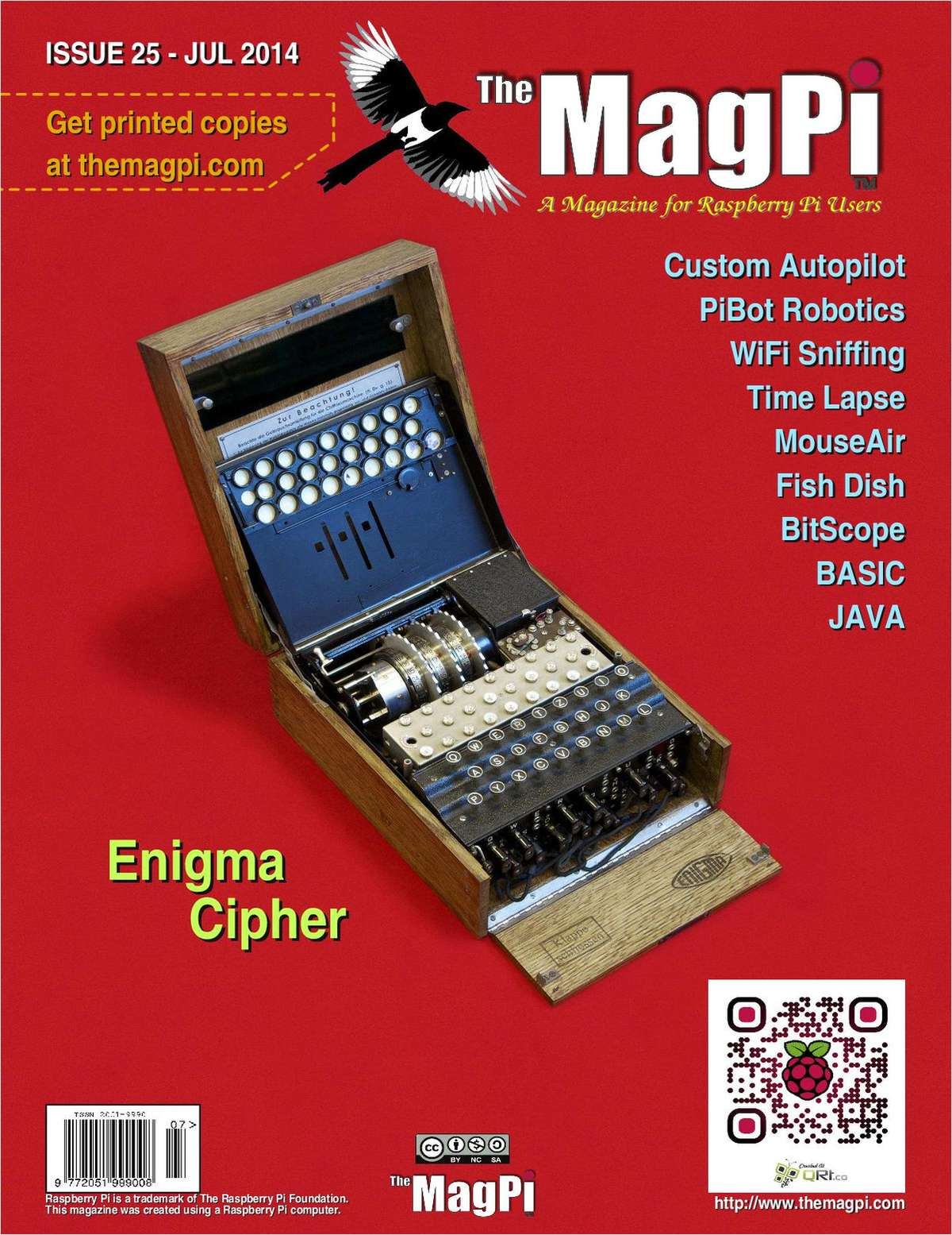 The MagPi Magazine: Enigma Cipher