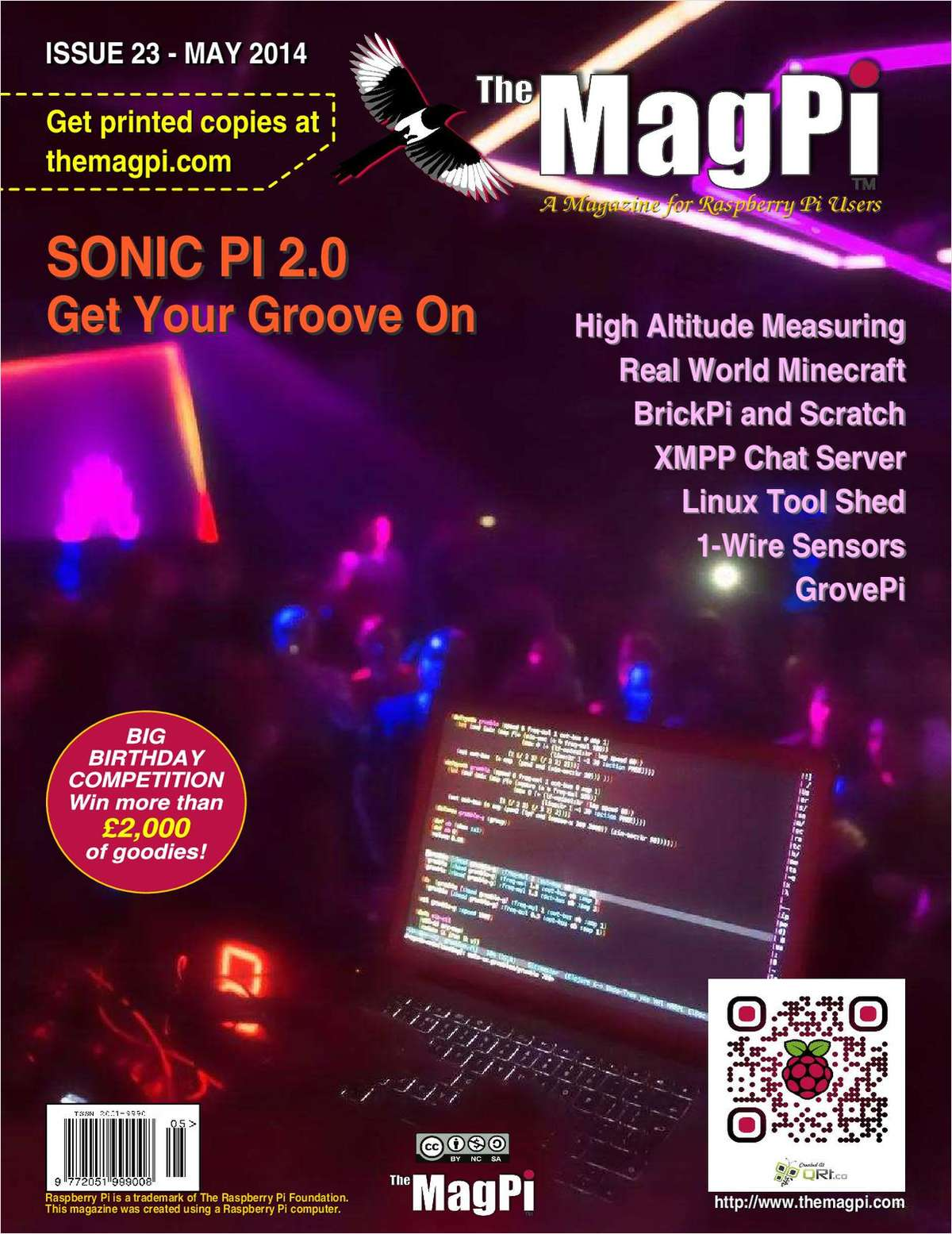 The MagPi Magazine: Sonic Pi 2.0, Get Your Groove On