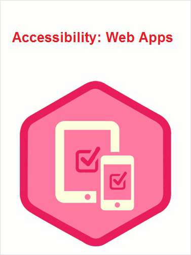 Accessibility: Web Apps