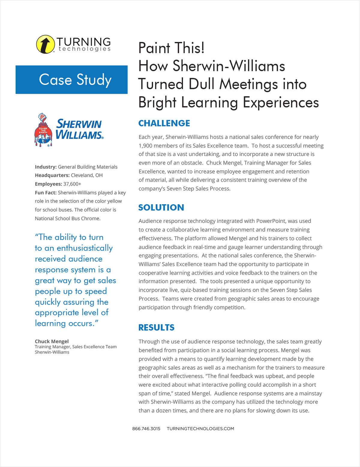 Paint This!  How Sherwin-Williams Turned Dull Meetings into Bright Learning Experiences
