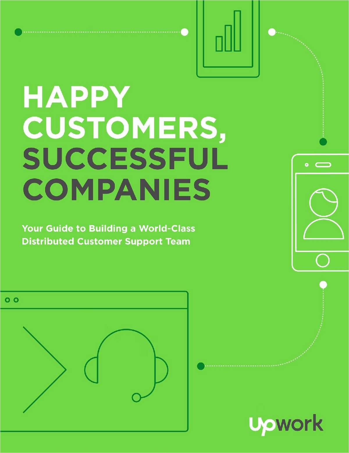 Happy Customers, Successful Companies