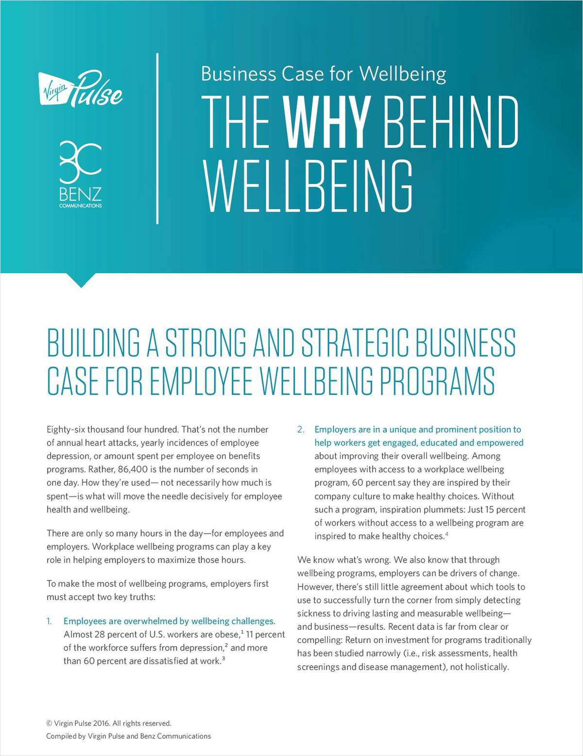 Building the Business Case for your Employee Well-being Strategy