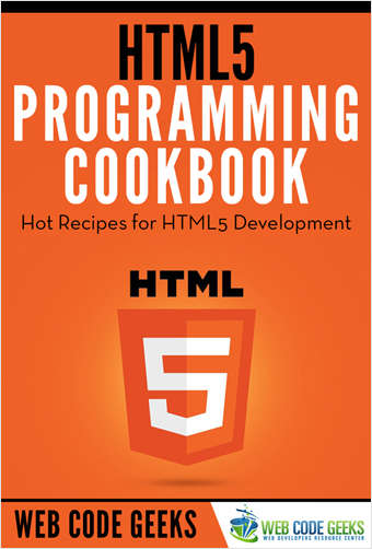 HTML5 Programming Cookbook