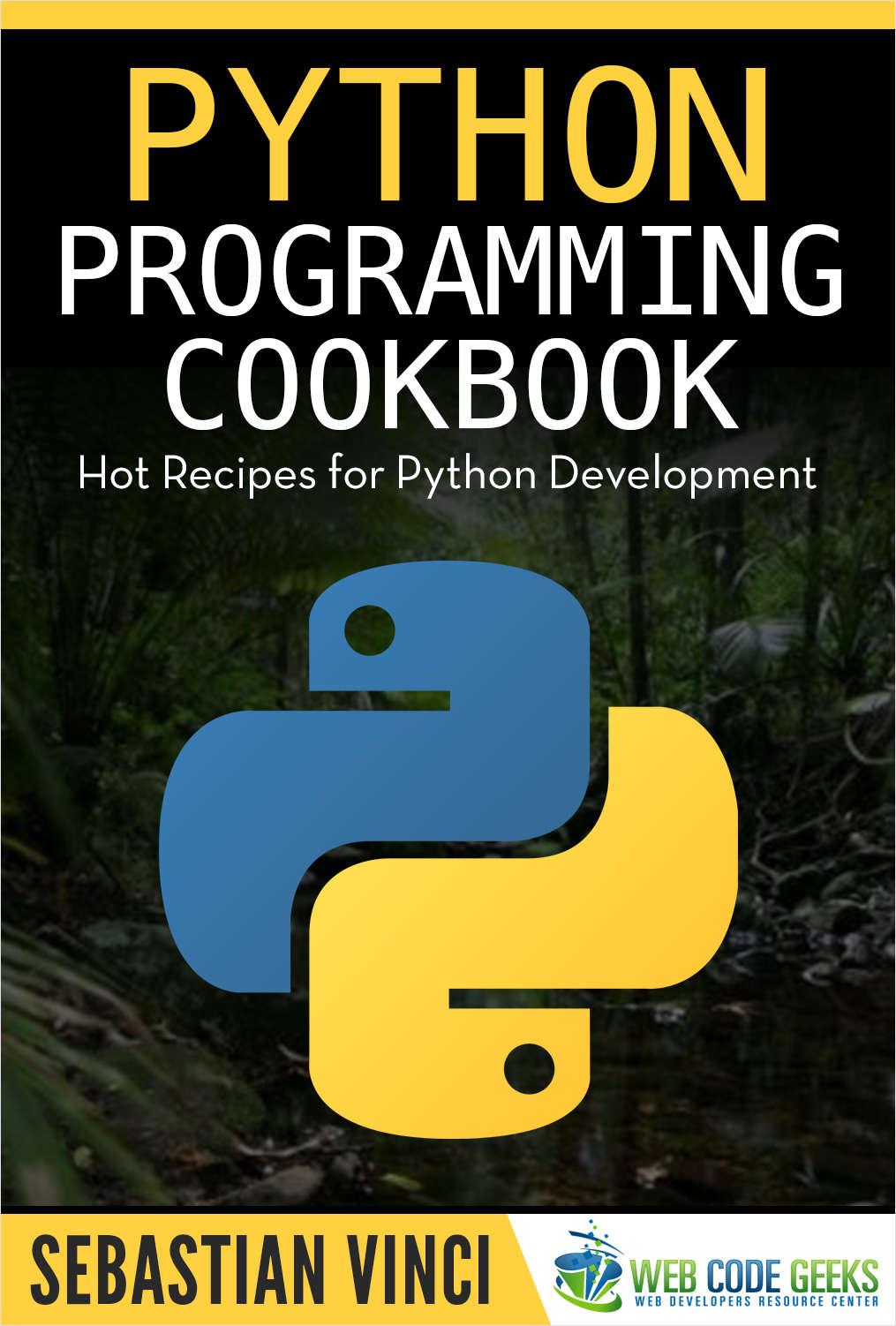Python Programming Cookbook