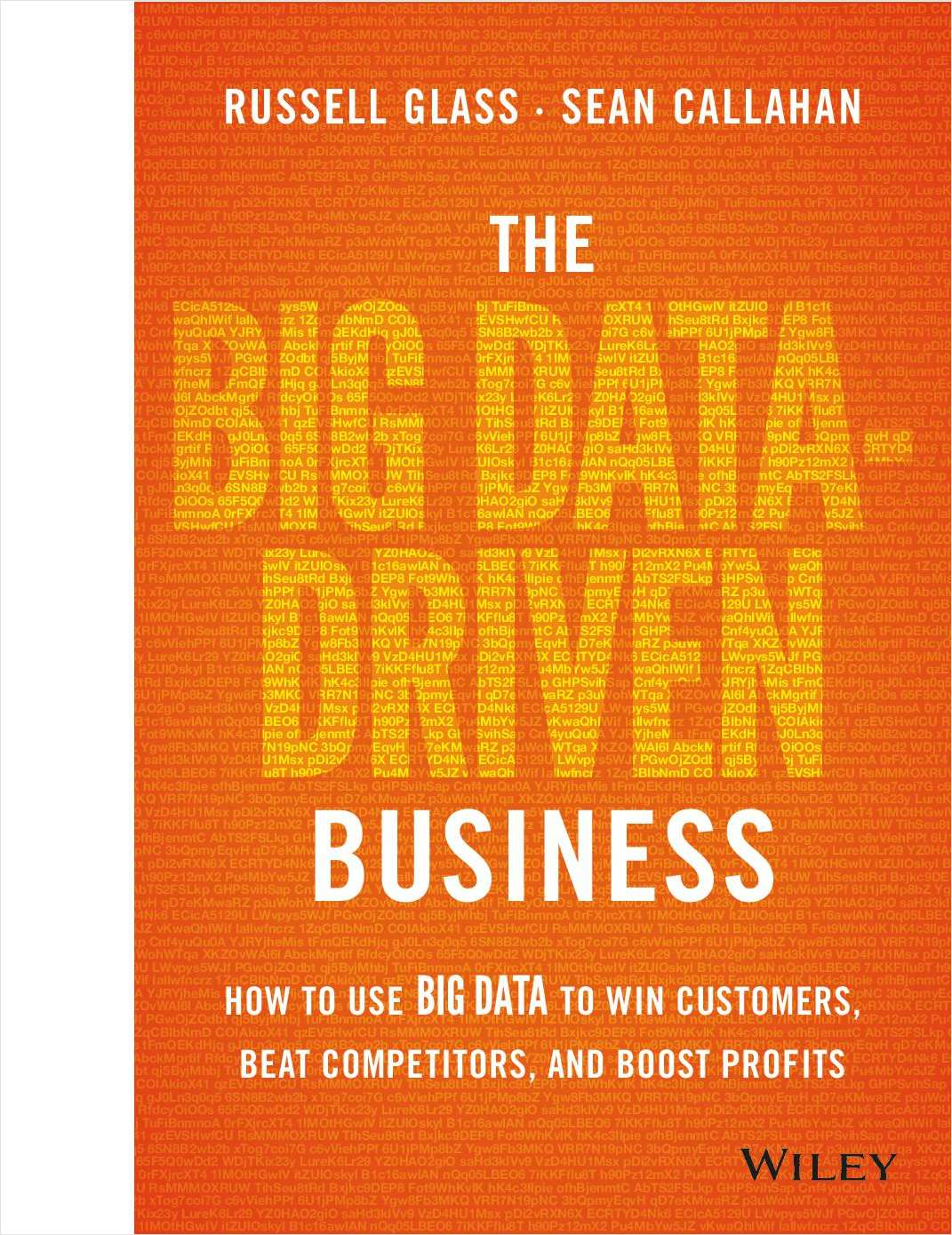 The Big Data-Driven Business: How to Use Big Data to Win Customers, Beat Competitors, and Boost Profits--Free Sample Chapter