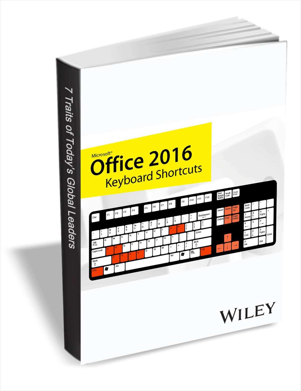 Office 2016 Keyboard Shortcuts