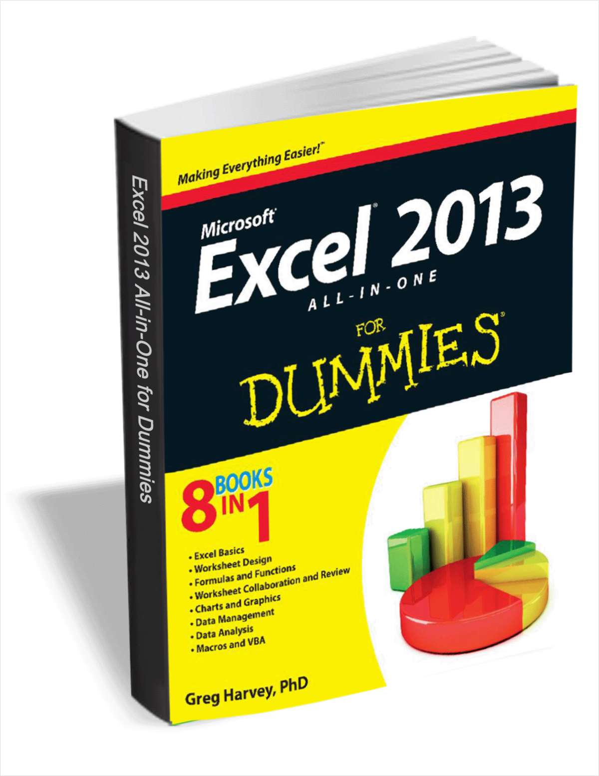 Excel 2013 All-in-One for Dummies (8 Books in 1) A $22.99 Value, FREE!