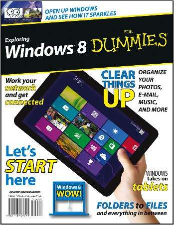 Exploring Windows 8 For Dummies--Free Sample Chapter