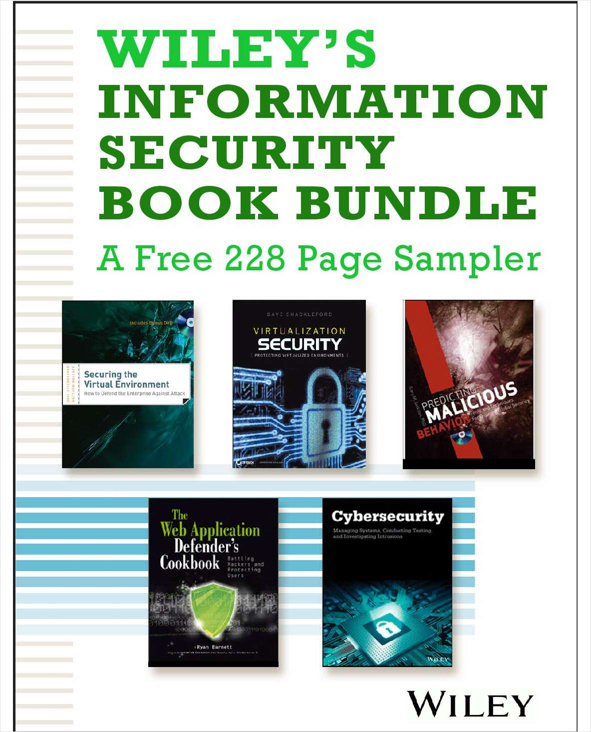 Wiley's Information Security Book Bundle -- A Free 228 Page Sampler