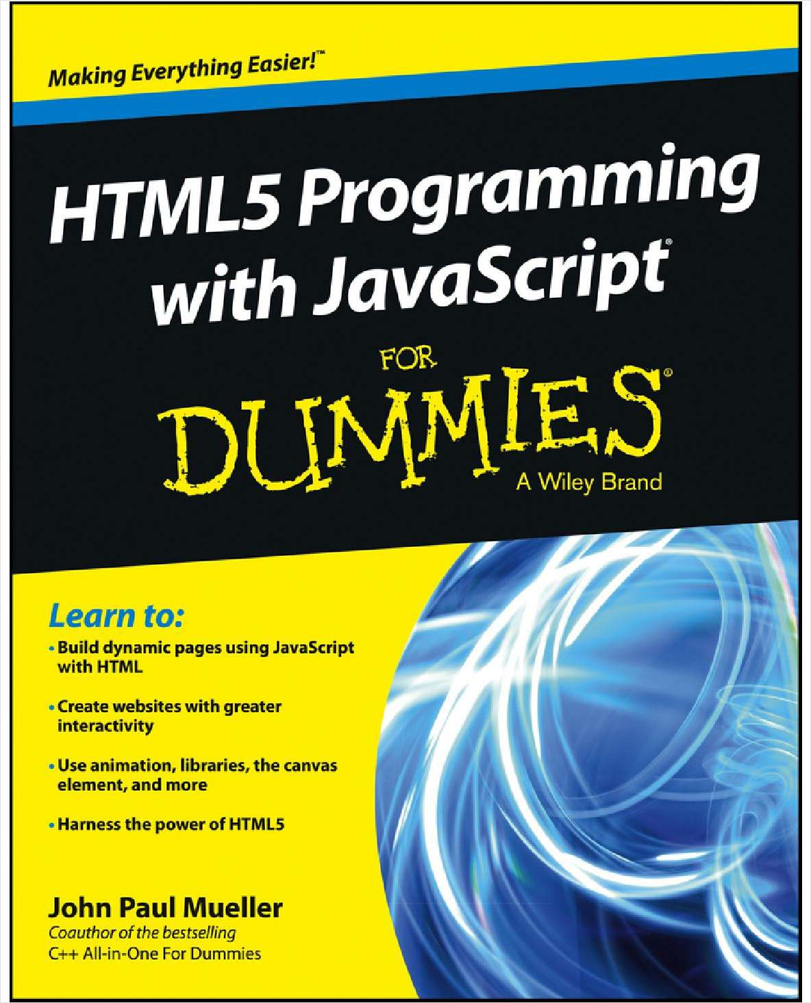 HTML5 Programming with JavaScript For Dummies--Free Sample Chapter