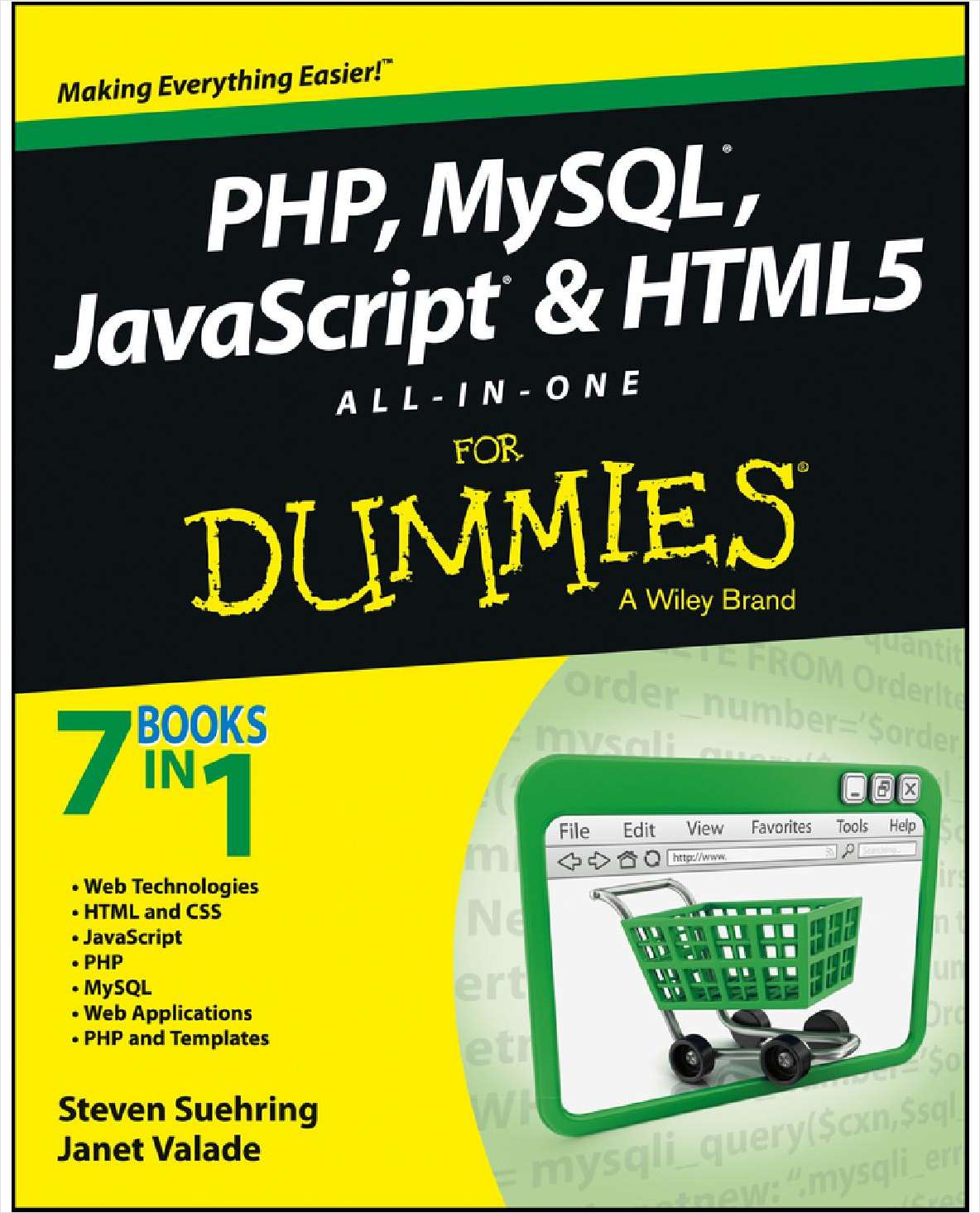 PHP, MySQL, JavaScript & HTML5 All-in-One For Dummies--Free Sample Chapters
