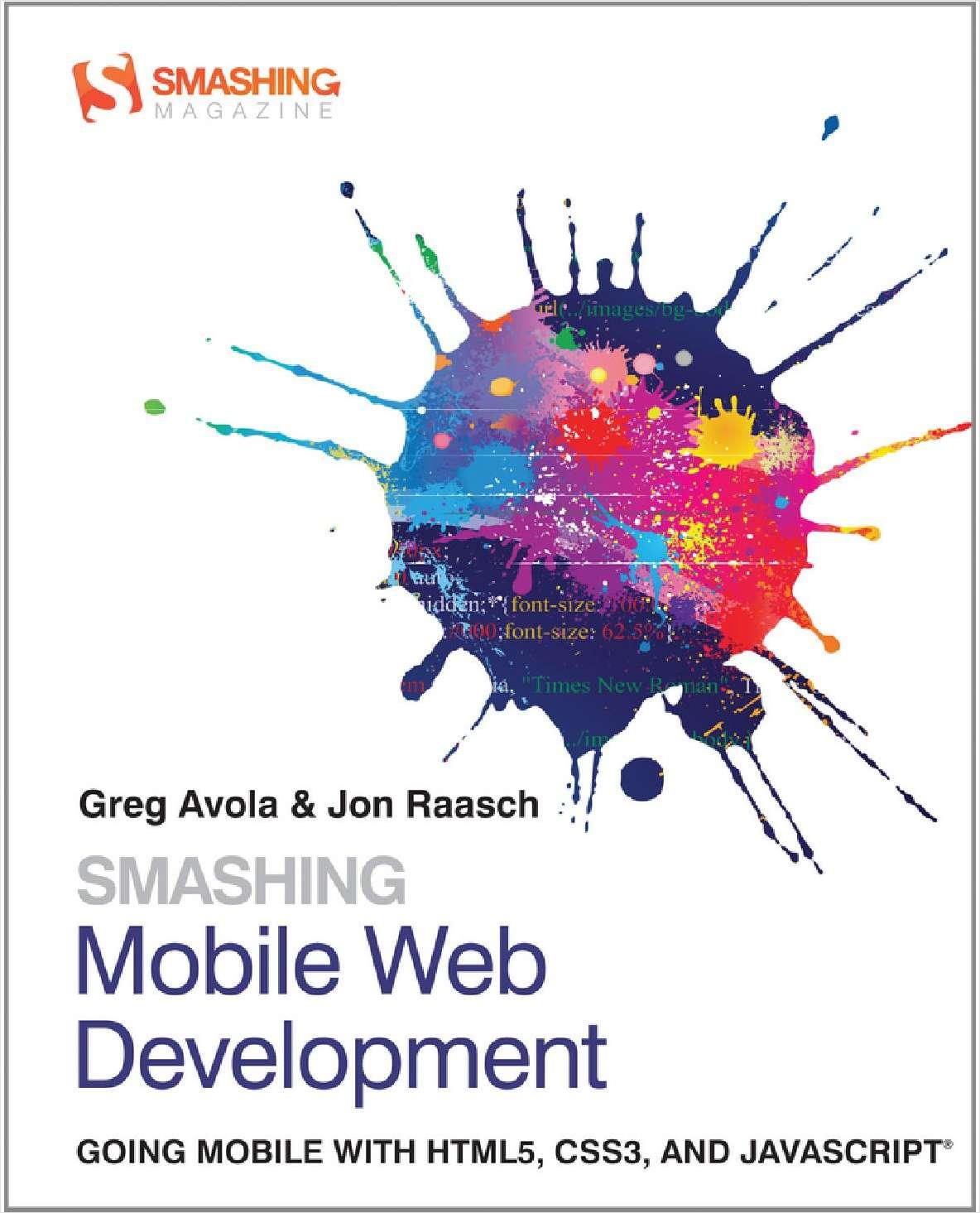 Smashing Mobile Web Development--Free Sample Chapter