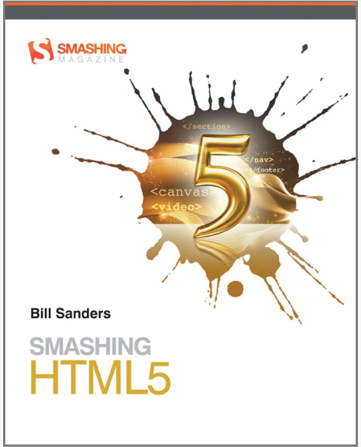 Smashing HTML5--Free Sample Chapter