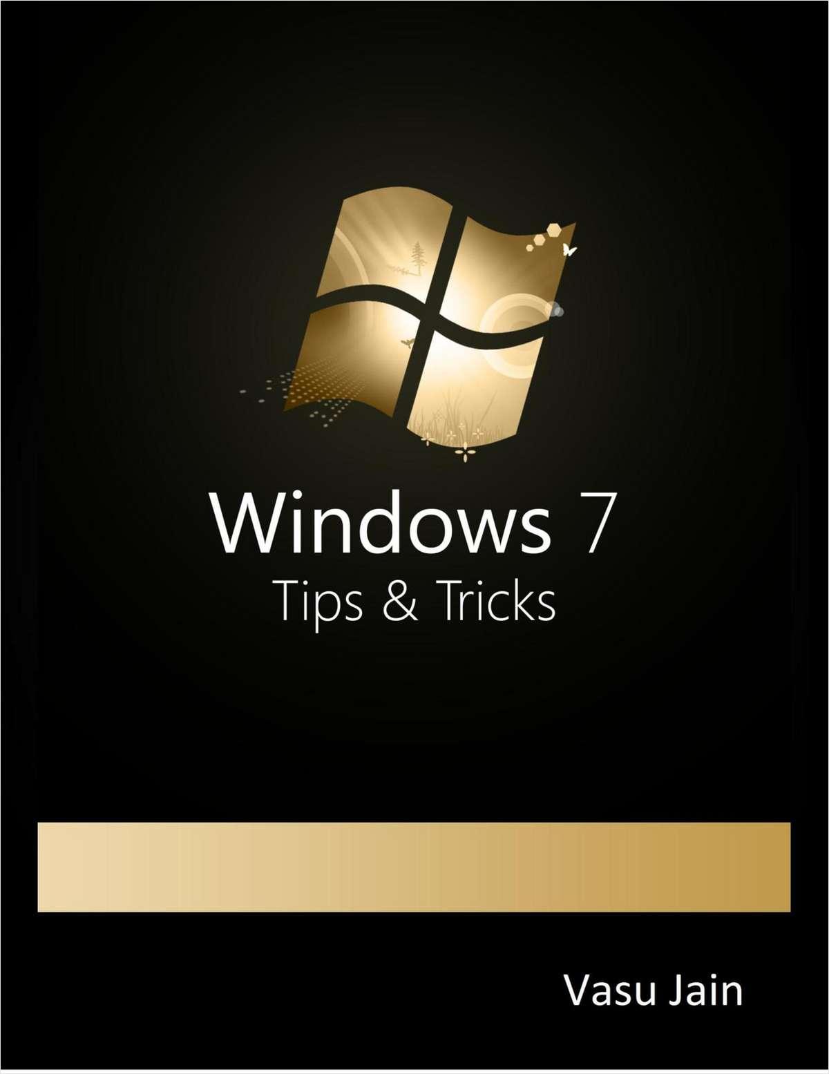 Windows 7: Tips & Tricks