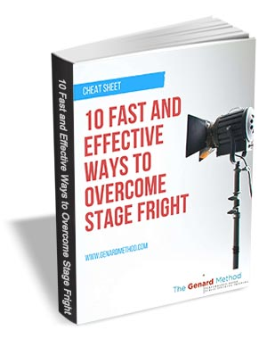 10 Fast and Effective Ways to Overcome Stage Fright