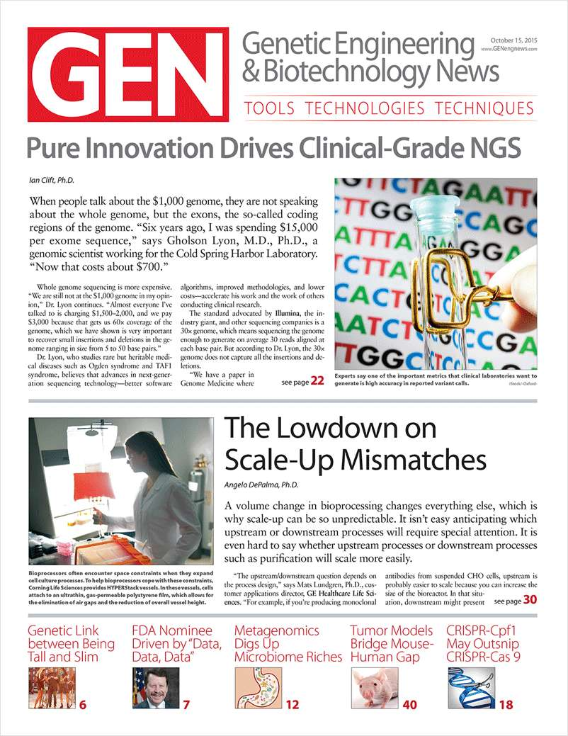 Genetic Engineering & Biotechnology (GEN) Magazine