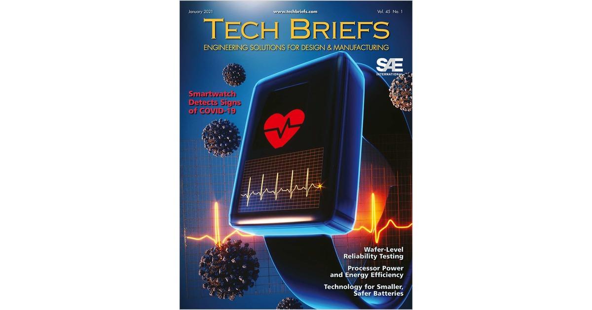 NASA Tech Briefs Free Magazine