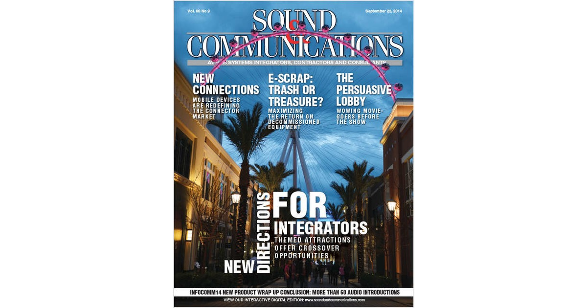 Sound & Communications, Free Sound & Communications Magazine Subscription Subscription