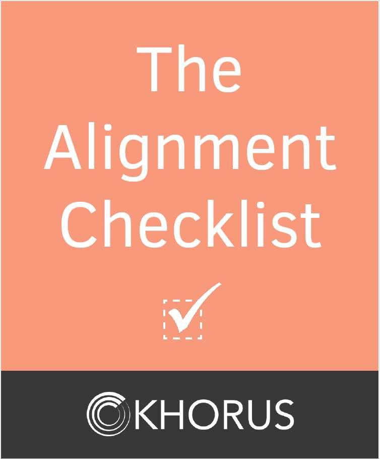 The Alignment Checklist