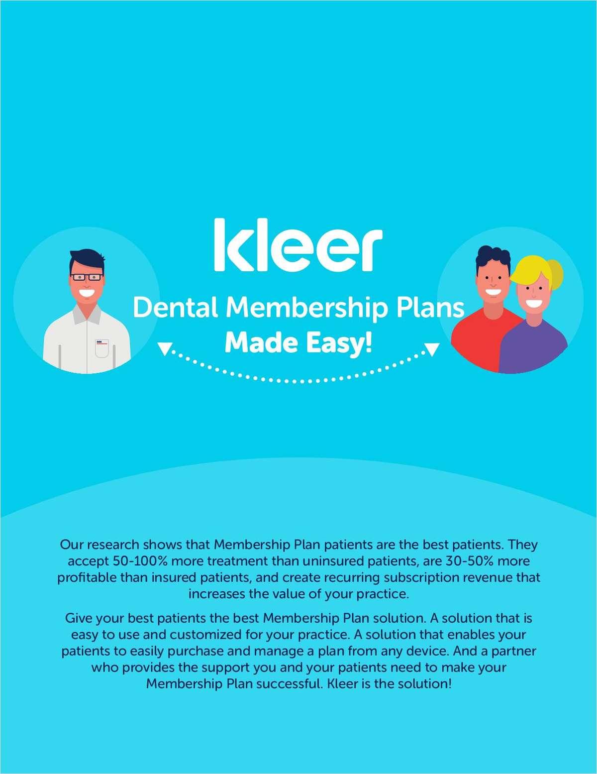 Dental Membership Plans Made Easy!