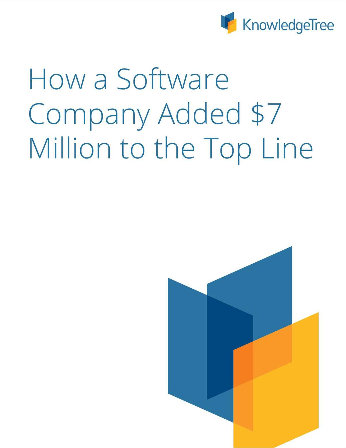 How a Software Company Added $7 Million to the Top Line