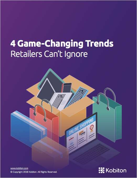 4 Game-Changing Trends Retailers Can't Ignore