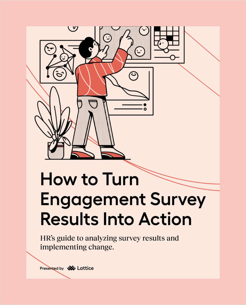 How to Turn Engagement Survey Results Into Action