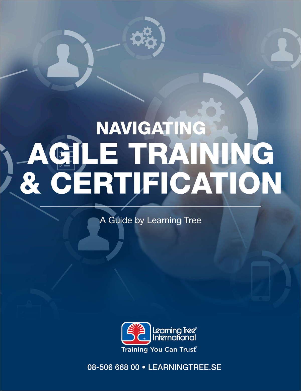 Navigating Agile Training & Certification - SE