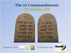 Nordic Special: The 10 Commandments of Nordic IPR