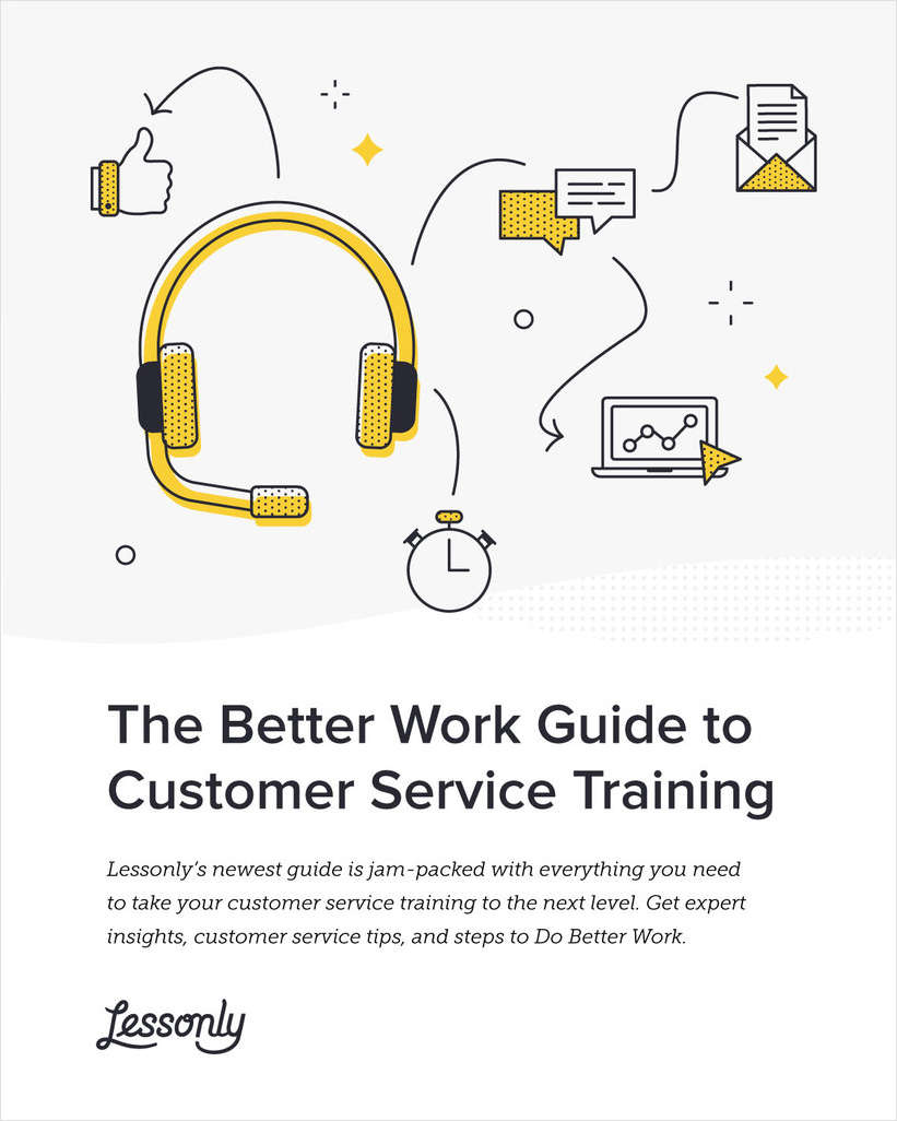 The Better Work Guide to Customer Service Training