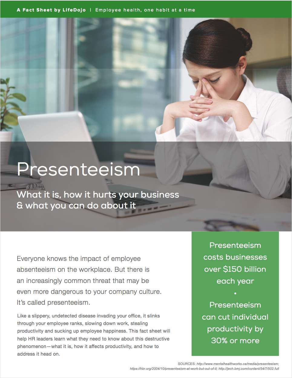 Is Presenteeism Killing Your Company's Productivity?