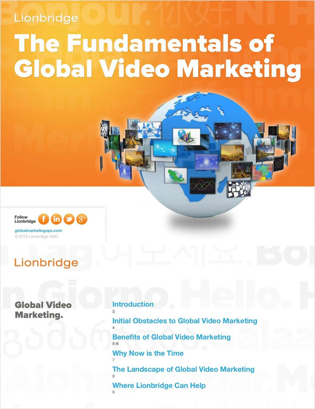 The Fundamentals of Global Video Marketing
