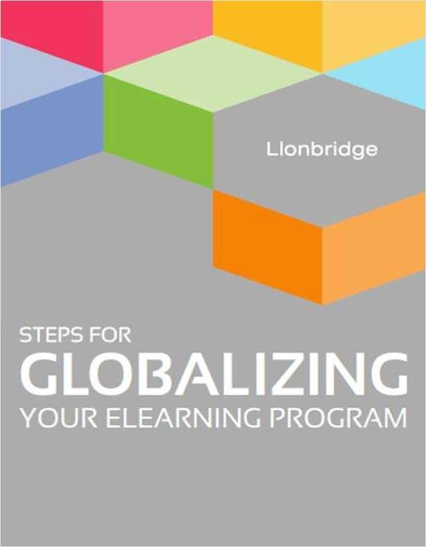 Steps for Globalizing your eLearning Program
